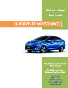 U-Dirve-It Assistance Manual Cover Photo