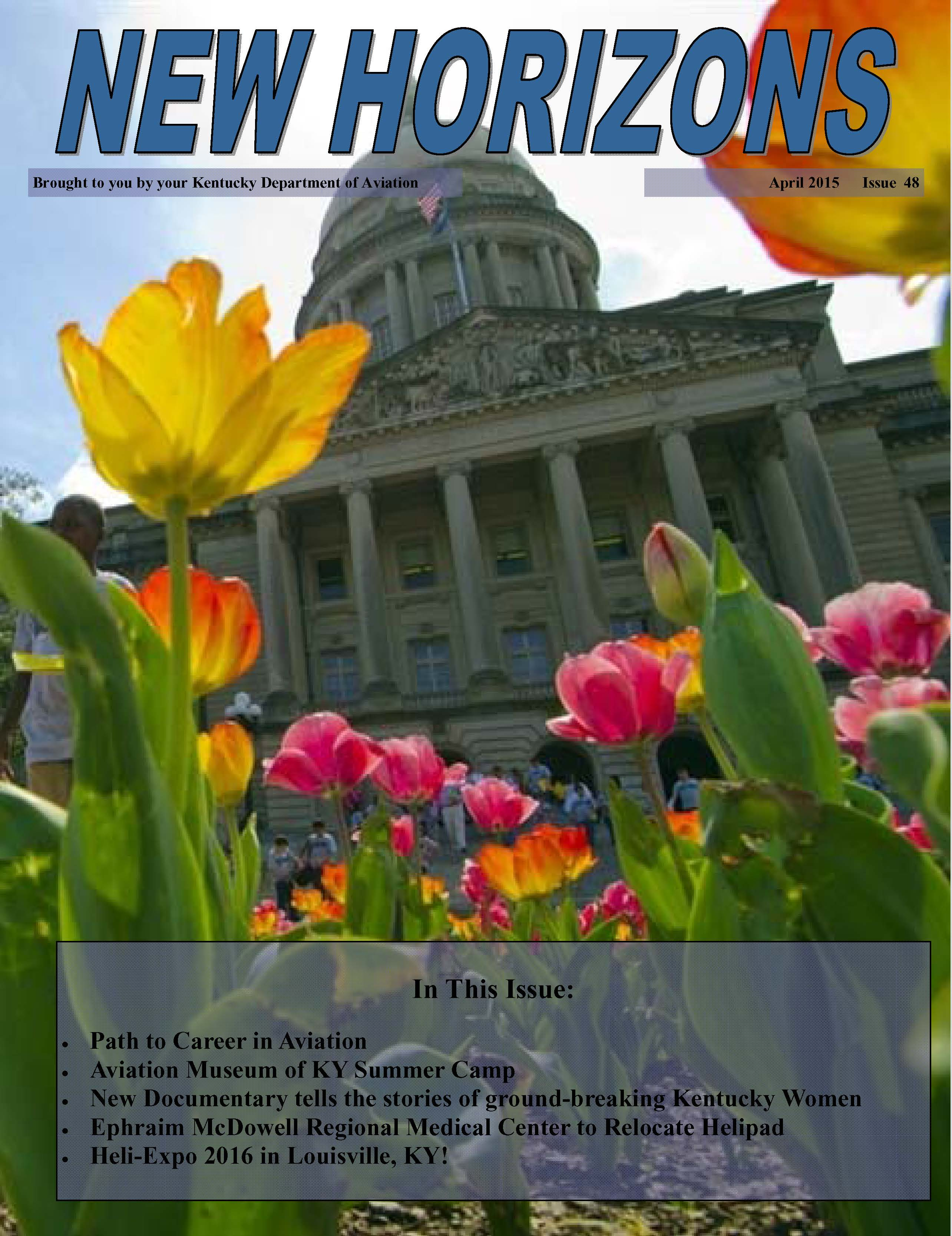 Aviation Newsletter Cover