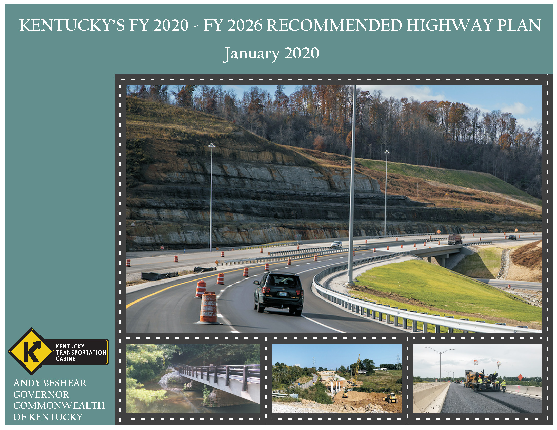 Kentucky's Fiscal Year 2018 to 2024 Recommended Highway Plan Book