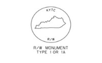 Right-of-Way Monument Map